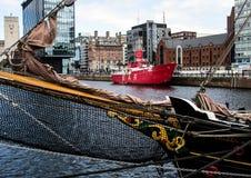 Αλβέρτος Dock, Λίβερπουλ Στοκ Φωτογραφία