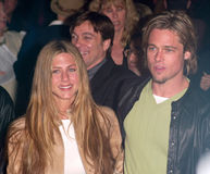 Αλβέρτος Finney, Brad Pitt, Jennifer Aniston, Julia Ρόμπερτς Στοκ φωτογραφία με δικαίωμα ελεύθερης χρήσης