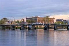 2$α γέφυρα Elagin Στοκ Εικόνα