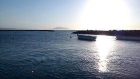 Αλγερινό ηλιοβασίλεμα Στοκ Εικόνες