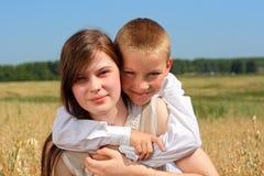 αδελφή αδελφών Στοκ φωτογραφίες με δικαίωμα ελεύθερης χρήσης