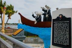 Αδελφές του ST Paul του μνημείου του Chartres Πόλη Dumaguete, Φιλιππίνες Στοκ Εικόνες