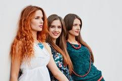 Αδελφές φίλων Smling Στοκ Φωτογραφία