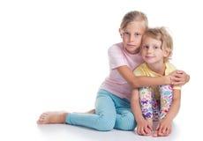 αδελφές δύο Στοκ Εικόνες