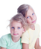 αδελφές δύο Στοκ Φωτογραφίες