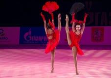 Αδελφές Dina και Arina Averina, Ρωσία Στοκ Εικόνες
