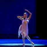 Αδελφή-σύγχρονος χορός παιδιών Στοκ εικόνες με δικαίωμα ελεύθερης χρήσης