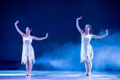 Αδελφή-σύγχρονος χορός Στοκ Εικόνα