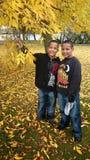 αδελφοί δύο Στοκ Φωτογραφία