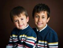αδελφοί δύο Στοκ εικόνα με δικαίωμα ελεύθερης χρήσης