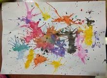 2$α ζωγραφική γκρέιντερ Στοκ εικόνες με δικαίωμα ελεύθερης χρήσης