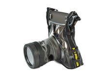 Αδιάβροχη περίπτωση για τη κάμερα Στοκ φωτογραφία με δικαίωμα ελεύθερης χρήσης