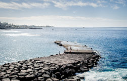Αλιεία λαών Στοκ Εικόνα