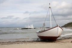 αλιεία βαρκών μικρή Στοκ Φωτογραφίες