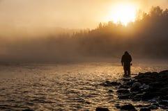 Αλιεία μυγών Στοκ φωτογραφία με δικαίωμα ελεύθερης χρήσης