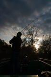 Αλιεία στον ποταμό Στοκ Φωτογραφίες