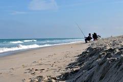 Αλιεία στο ακρωτήριο Κανάβεραλ Στοκ Εικόνα