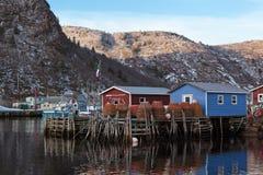 Αλιεία της νέας γης Στοκ Εικόνες