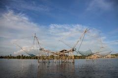 Αλιεία της Ταϊλάνδης Στοκ φωτογραφία με δικαίωμα ελεύθερης χρήσης