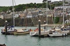 Αλιεία του λιμανιού Newlyn Κορνουάλλη, Αγγλία, UK Στοκ εικόνες με δικαίωμα ελεύθερης χρήσης