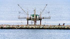 Αλιεία του σπιτιού στη Ραβένα Στοκ Εικόνα