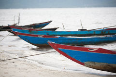 Αλιευτικά σκάφη Βιετνάμ στοκ εικόνα