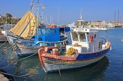 Αλιευτικά σκάφη, Ελλάδα Στοκ φωτογραφία με δικαίωμα ελεύθερης χρήσης
