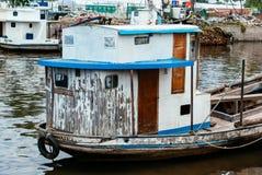 Αλιευτικά σκάφη σε Tigre Στοκ Φωτογραφία