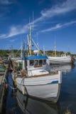 Αλιευτικά σκάφη στην αποβάθρα Στοκ φωτογραφία με δικαίωμα ελεύθερης χρήσης