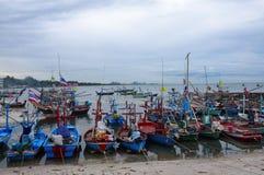 Αλιευτικά σκάφη στην Ταϊλάνδη Στοκ εικόνα με δικαίωμα ελεύθερης χρήσης