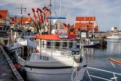 Αλιευτικά σκάφη στο λιμάνι Στοκ Φωτογραφία