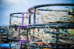 Αλιευτικό εργαλείο καβουριών Στοκ φωτογραφία με δικαίωμα ελεύθερης χρήσης