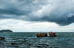 Αλιευτικό σκάφος στη θάλασσα Στοκ Φωτογραφίες