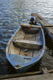 Αλιευτικό σκάφος στο ηλιοβασίλεμα Στοκ Εικόνα