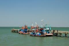 Αλιευτικό σκάφος της Ταϊλάνδης Στοκ εικόνα με δικαίωμα ελεύθερης χρήσης