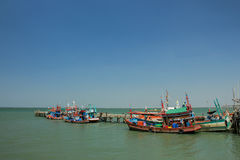 Αλιευτικό σκάφος της Ταϊλάνδης Στοκ Φωτογραφίες