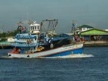 Αλιευτικό σκάφος του Σηκουάνα πορτοφολιών Στοκ Φωτογραφία