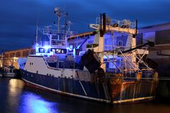 Αλιευτικό σκάφος 04 Στοκ εικόνες με δικαίωμα ελεύθερης χρήσης