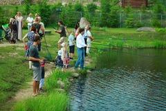 Αλιεύοντας άνθρωποι Στοκ Φωτογραφίες