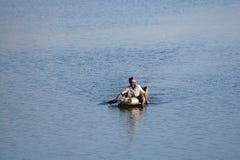 Αλιεύοντας άτομο Στοκ εικόνες με δικαίωμα ελεύθερης χρήσης