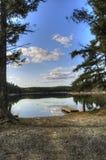 Αλιεύοντας λίμνη Στοκ εικόνα με δικαίωμα ελεύθερης χρήσης
