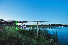 αλιεύοντας λίμνη Στοκ φωτογραφία με δικαίωμα ελεύθερης χρήσης