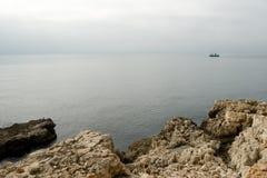 Αλιεύοντας αλιευτικό πλοιάριο Στοκ Φωτογραφίες