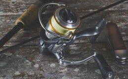 Αλιεύοντας εξέλικτρο στοκ φωτογραφία