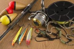 Αλιεύοντας εξοπλισμός Στοκ φωτογραφία με δικαίωμα ελεύθερης χρήσης