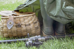 Αλιεύοντας εργαλεία Στοκ φωτογραφία με δικαίωμα ελεύθερης χρήσης