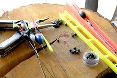 Αλιεύοντας εργαλεία Στοκ Εικόνες