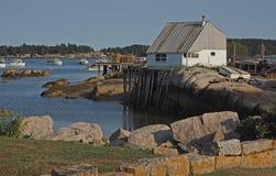 Αλιεύοντας λιμάνι Στοκ Εικόνες