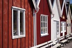 Αλιεύοντας καλύβα Στοκ Φωτογραφίες