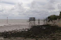 Αλιεύοντας καλύβα Στοκ φωτογραφία με δικαίωμα ελεύθερης χρήσης